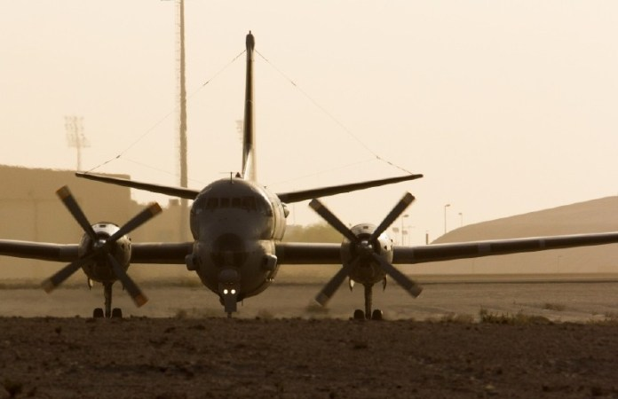 Atlantique II desplegado en apoyo a la operación Chammal. Imagen: EMA.