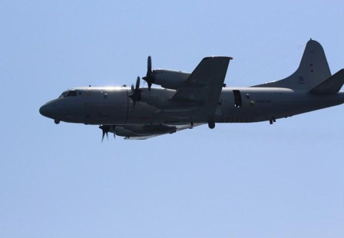 P-3C Orion CUP perteneciente a la Deutsche Marine durante su despliegue en apoyo a la operación Atalanta. Imagen: OTAN.