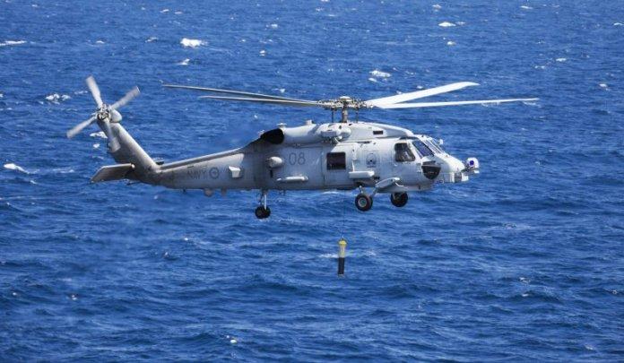 Seahawk australiano durante ejercicio ASW DIPEX. Imagen: LSIS Sarah Williams - RAN