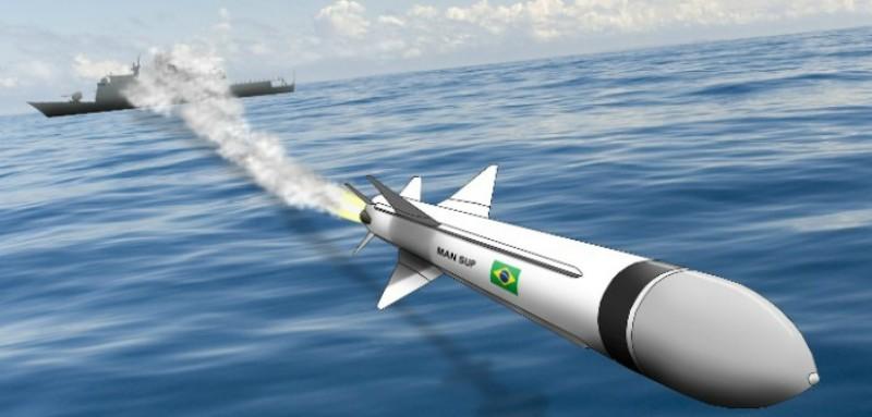 Prototipos del primer misil anti-buque Brasilero ya se están ensamblando. Mansupvoando
