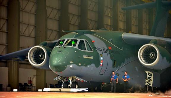 Embraer busca vender sus KC-390