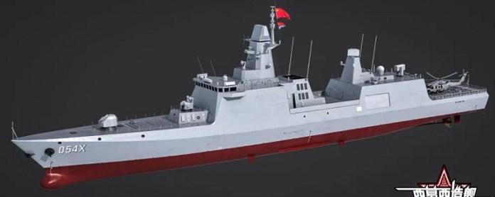 Fragata China 054, la mas actual en su inventario. - Página 2 PLAN4