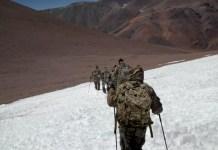 infantería de montaña