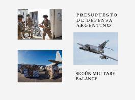 presupuesto en defensa