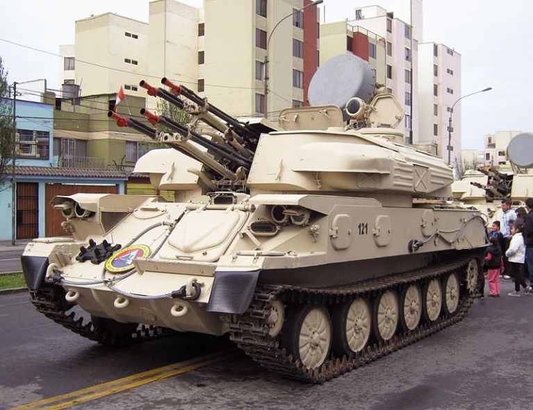 ZSU-23-4 «Shilka»