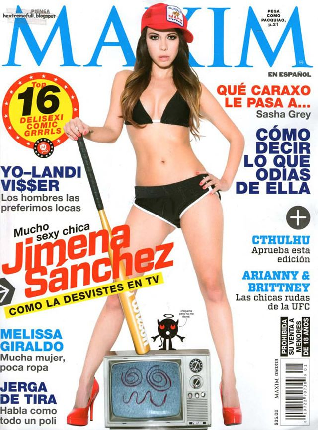 Jimena Sánchez, Maxim enero 2013 (1)