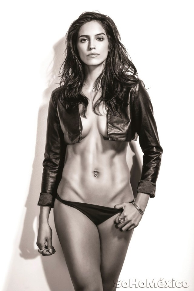 Bárbara de Regil desnuda en Soho México (1)