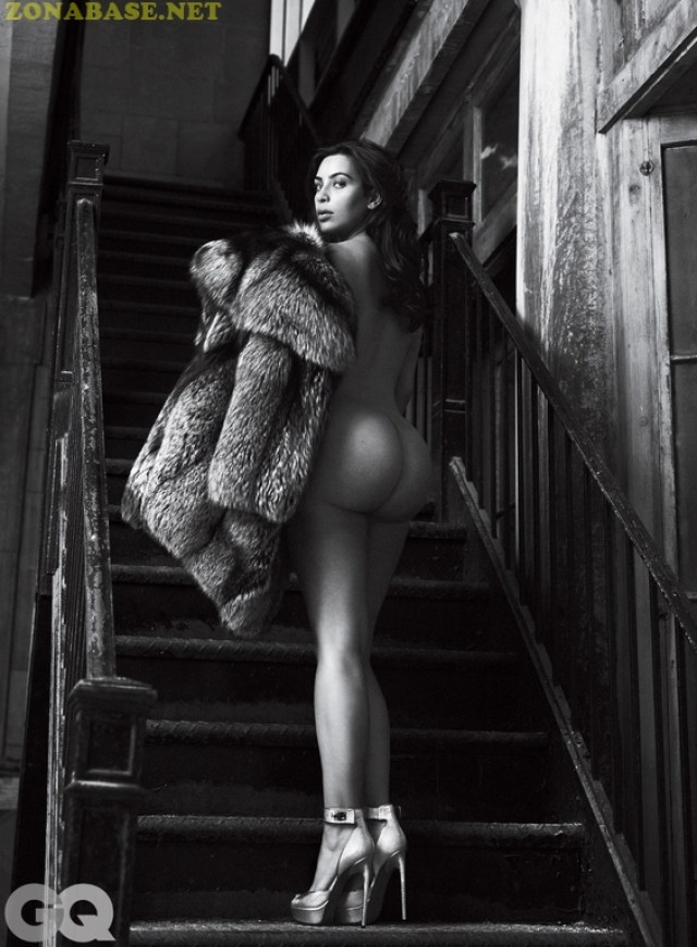 Kim Kardashian – Naked for GQ Magazine, June 2016 (8)