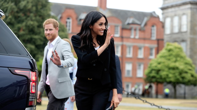 В очакване на кралско бебе: Меган Маркъл е бременна