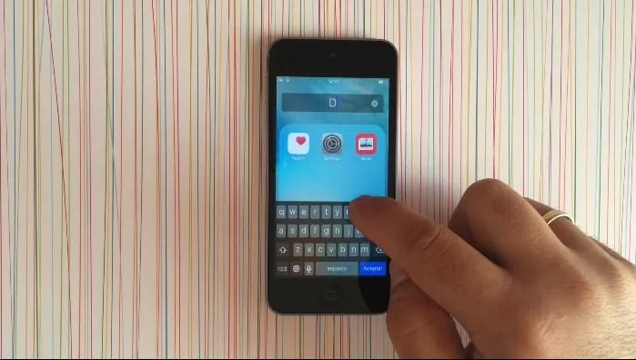 esconder iconos iOS 9