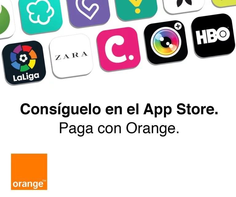Los clientes de Orange podrán pagar sus compras en la App Store con sus facturas
