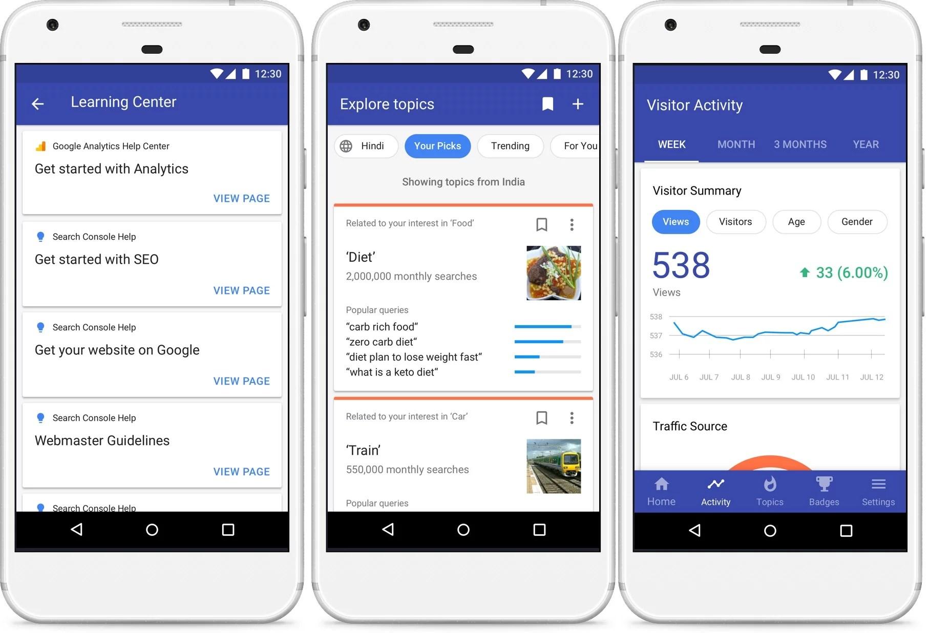 La aplicación más reciente de Google, Blog Compass, ayuda a los bloggers en India a administrar sus sitios.