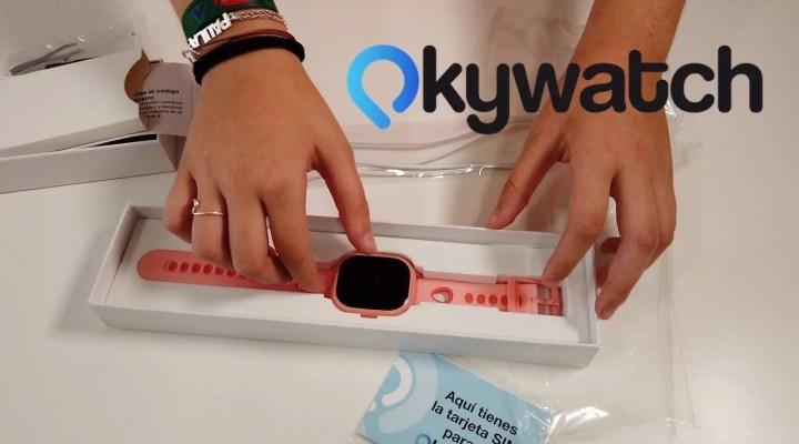 OkyWatch - Reloj inteligente con GPS para los peques.