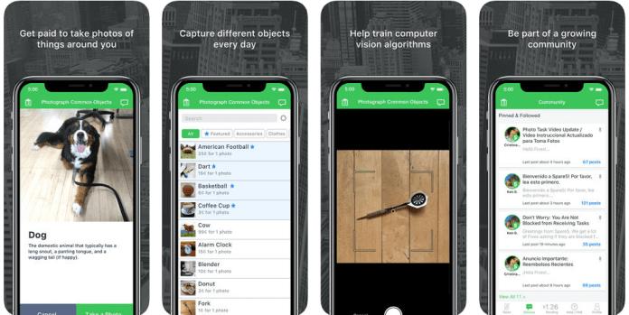 Aplicación móvil de Spare5
