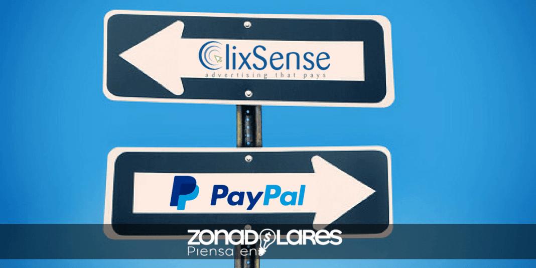 ClixSense dejara de pagar por PayPal