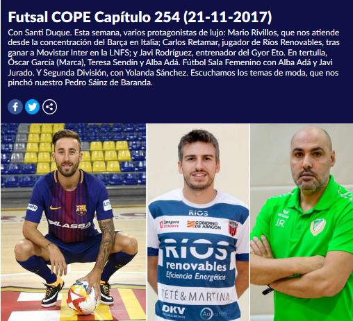 Futsal COPE Capítulo 254
