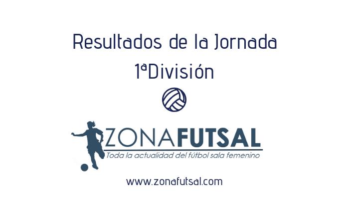 Resultados Jornada 9ª de 1ª División de Fútbol Sala Femenino