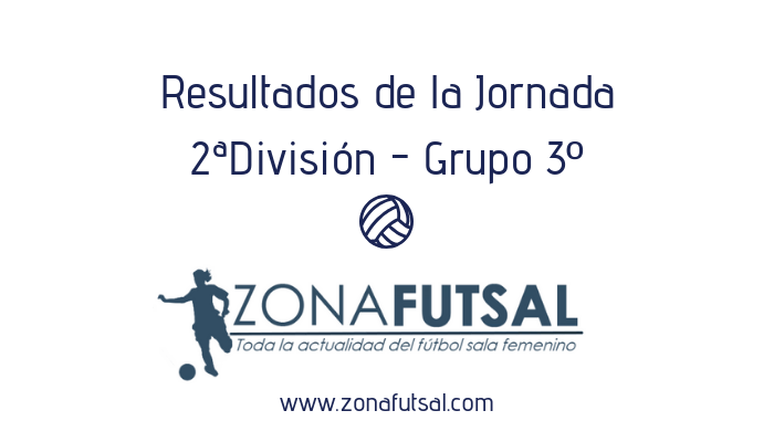 Resultados. 2ª División de Fútbol Sala Femenino. Grupo 3º. Jornada 18