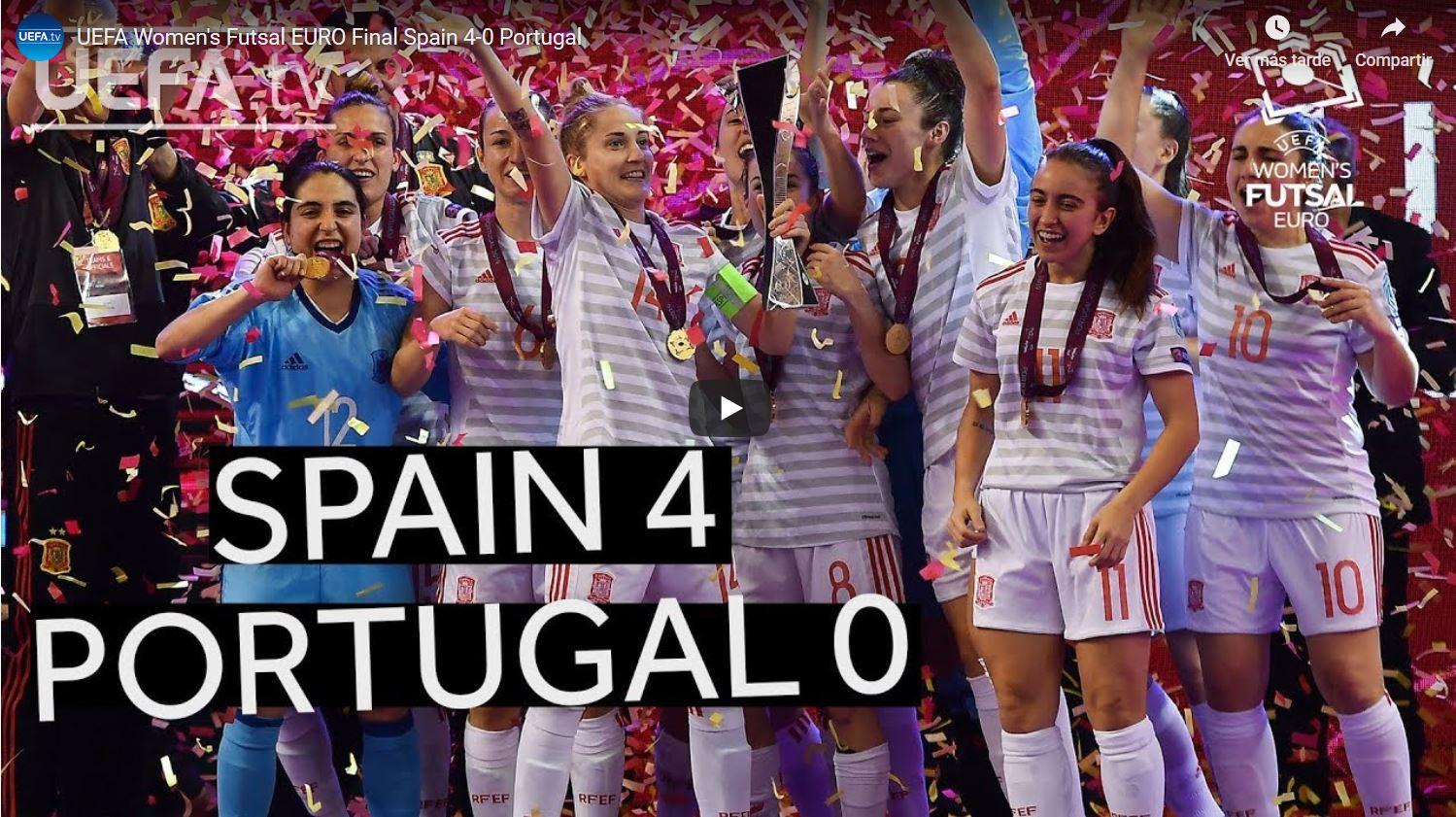 Resumen de la Final del Europeo entre España y Portugal