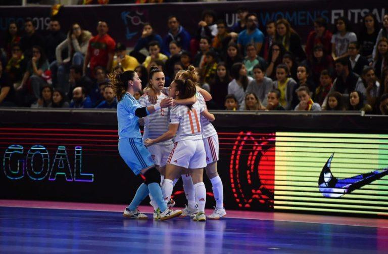 Claudia Pons y la Selección Femenina de Fútbol Sala entre las nominadas en los Futsalplanet Awards 2019