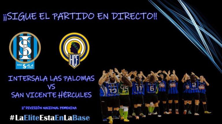 Emisión en Diferido: Intersala Promises - San Vicente Hércules 2ª División. Grupo 2º