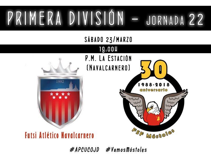 Emisión en Diferido: Futsi Atlético Navalcarnero - FSF Móstoles. Jornada 22
