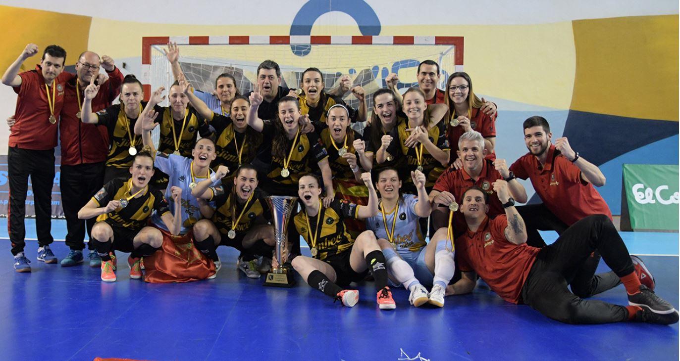 El Jimbee Roldán se proclama campeón del European Women's Futsal