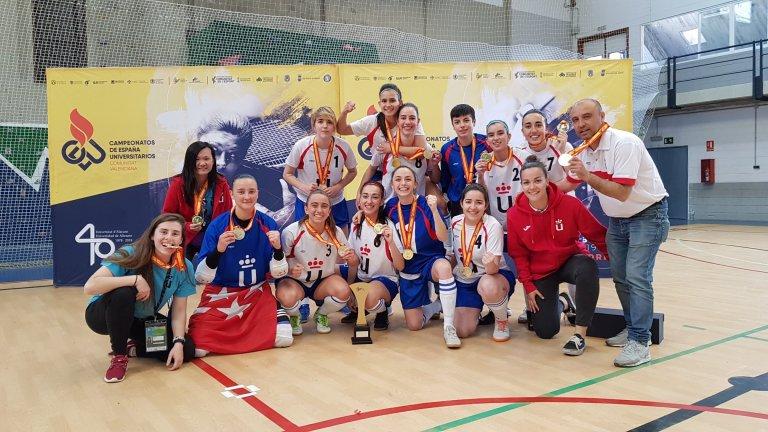 Siete alfareras Campeonas de España con la URJC