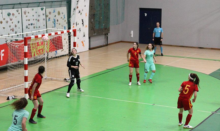 España cae ante Portugal por tres a dos en el segundo amistoso