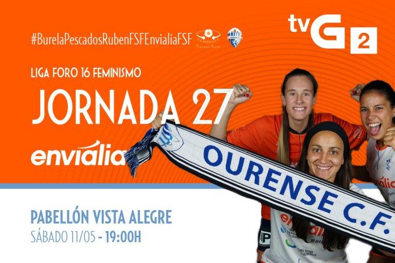 Emisión en Directo: Pescados Rubén Burela - Ourense Envialia FSF. Jornada 27
