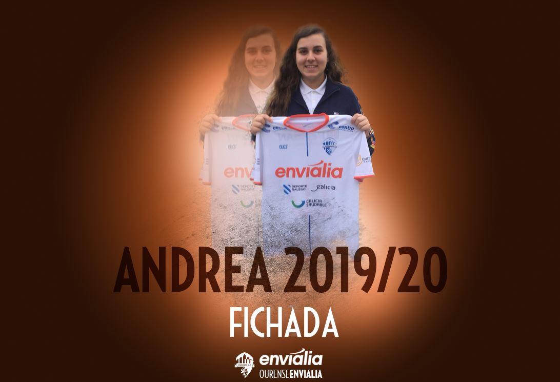 Gran Fichaje de la Joven Andrea de 16 años procedente de O Fisgón