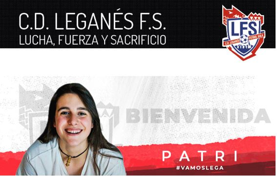 Patri y Werner, nuevos fichajes de CD Leganés FS