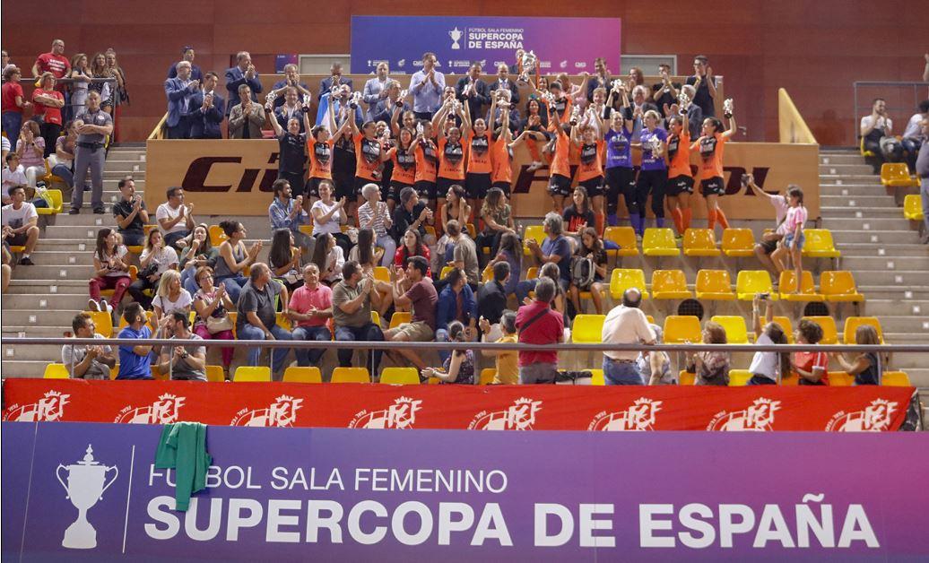 Pescados Rubén Burela, campeón de la Supercopa de España de fútbol sala tras imponerse al Atlético Navalcarnero