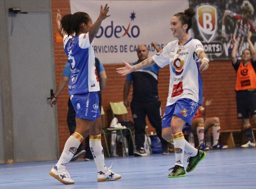 Crónica: Poio Pescamar FSF - Sala Zaragoza. Jornada 15ª. 1ª División Fútbol Sala Femenino