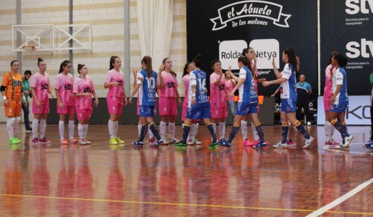 Crónica: STV Roldán FSF - Sala Zaragoza. 1ª División. Jornada 6ª