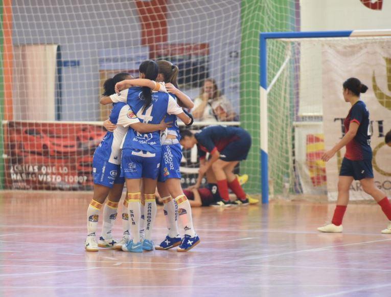 Crónica: Futsi Atlético Navalcarnero - Sala Zaragoza. 1ª Div. Jornada 11ª