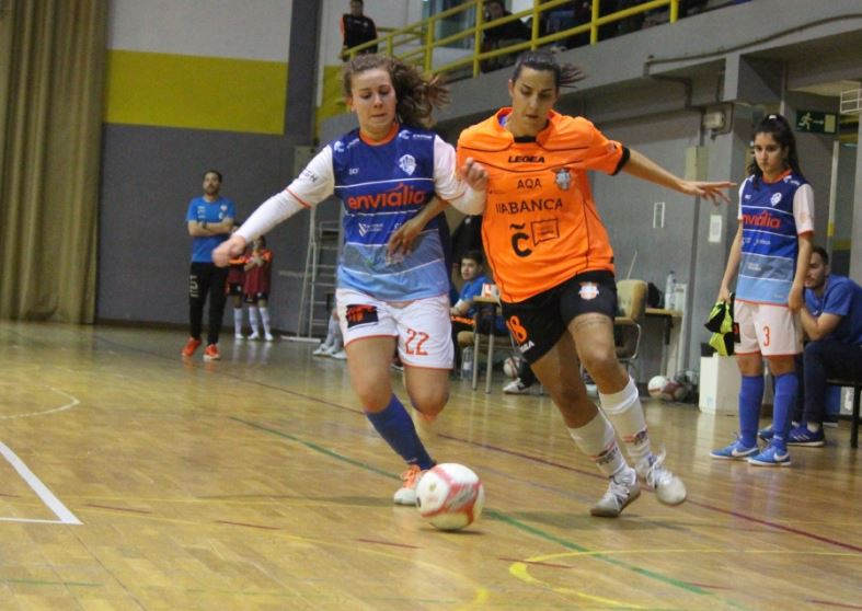 Previa: Viaxes Amarelle FSF - UDC Txantrea KKE. Jornada 10ª. 2ª División Fútbol Sala Femenino. Grupo 1º