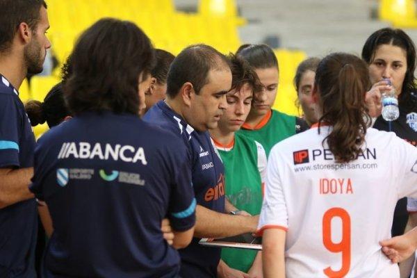 """Gonzalo Iglesias """"Morenín"""" (Entrenador de Ourense Envialia FSF):""""Nuestro reto debe ser luchar por entrar en el play off por el título y luego llegar lo más lejos posible en la nueva Copa de la Reina y la Copa Xunta."""""""