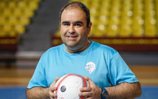 """Gonzalo Iglesias """"Morenín"""", entrenador de Ourense Envialia FSF"""