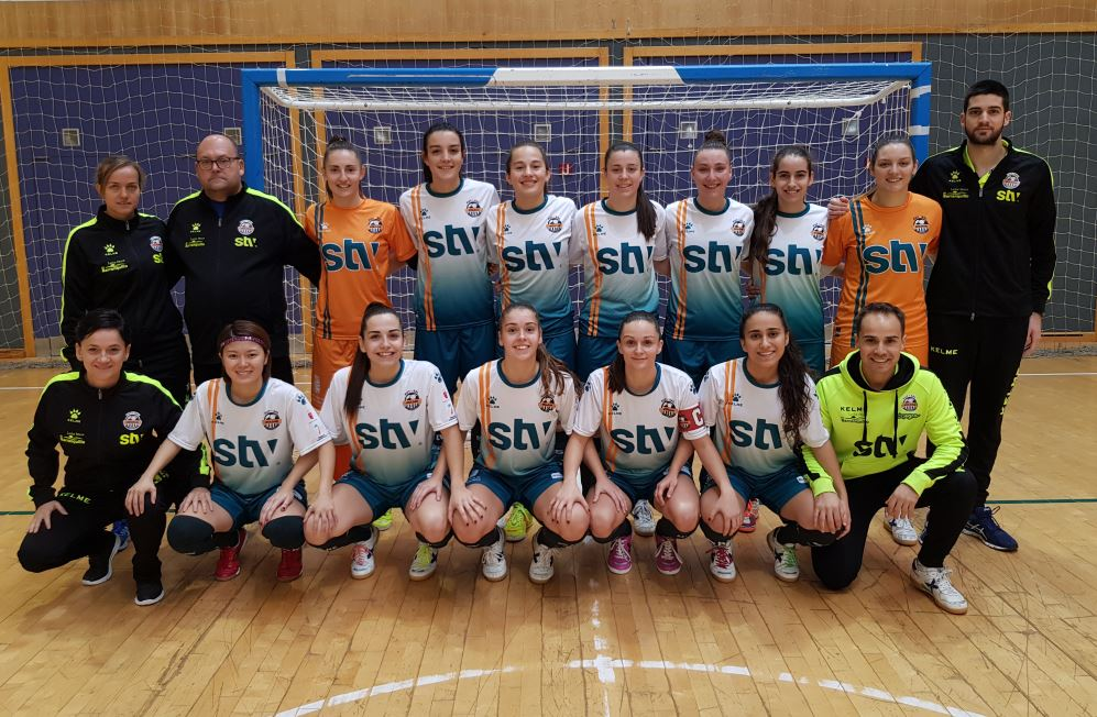 Crónica: AD Alcorcón FSF - STV Roldán. Jornada 23ª. 1ª División. de Fútbol Sala Femenino
