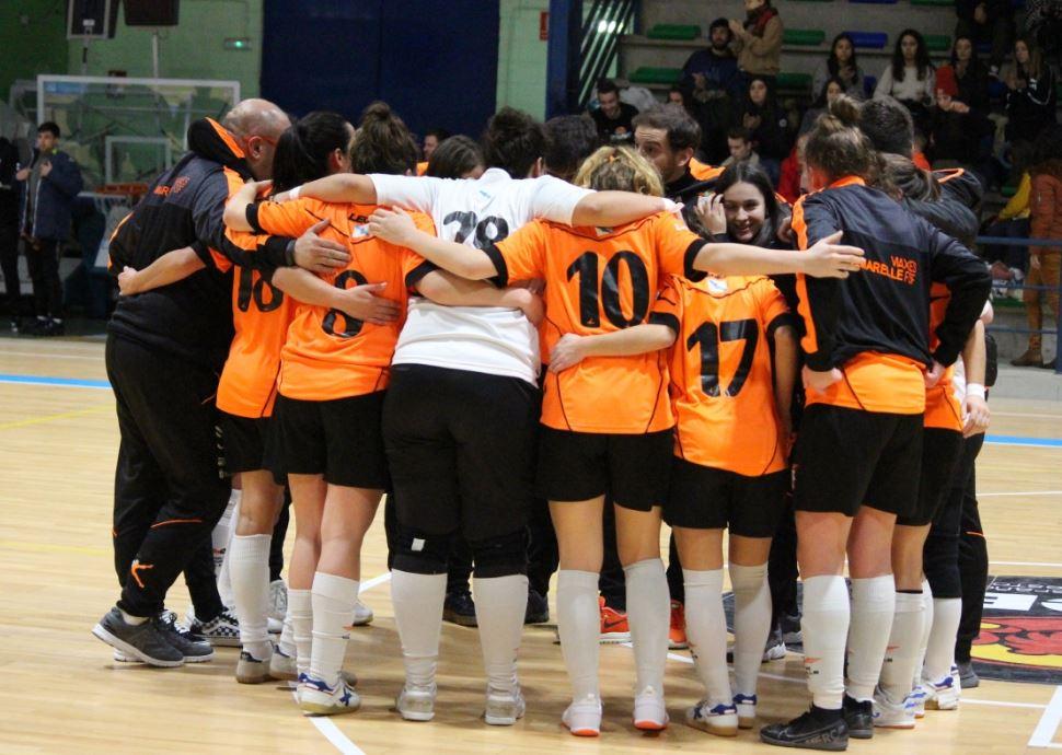 Crónica: O Fisgón - Viaxes Amarelle FSF. Jornada 13ª. 2ª División. Grupo 1º. Fútbol Sala Femenino
