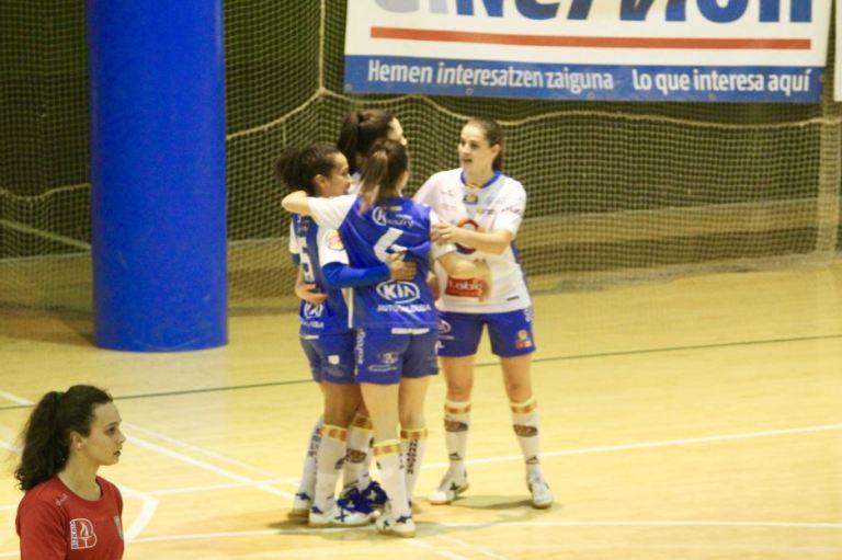 Crónica: Octavos de la Copa de la Reina de Fútbol Sala Femenino: Bilbo C.F.S. Femenino - Sala Zaragoza