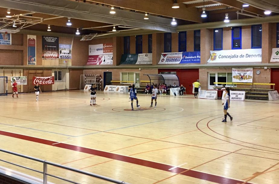 Crónica: FSF Móstoles - Sala Zaragoza. Jornada 16ª. 1ª División. Fútbol Sala Femenino