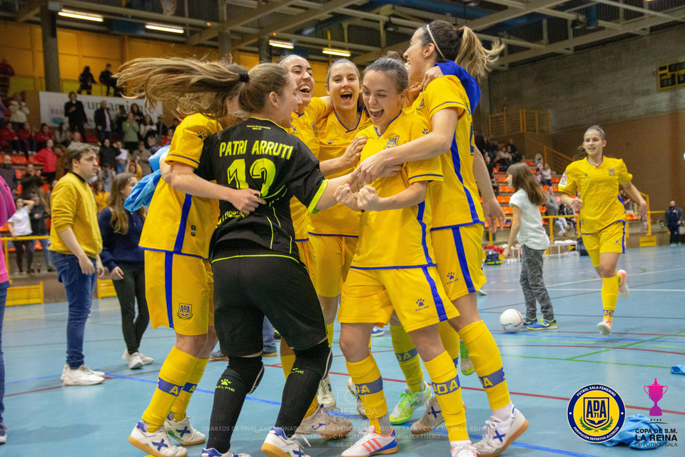 Crónica: AD Alcorcón FSF - STV Roldán. Jornada 23ª. 1ª Div. de Fútbol Sala Femenino