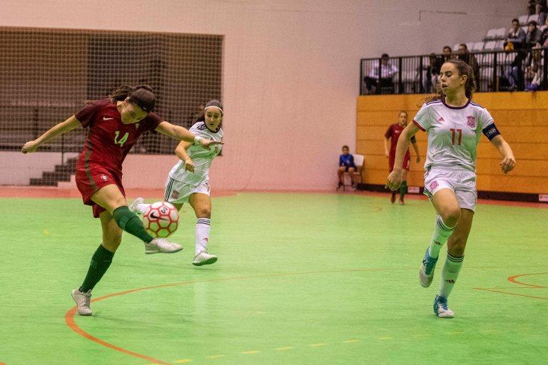 La Selección Española Sub 19 pierde su segundo amistoso frente a Portugal por un apretado 5 a 3