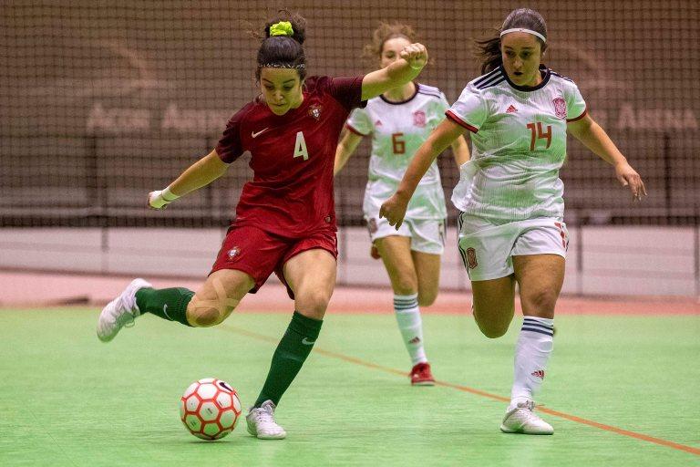 La Selección Española Sub 19 de Fútbol Sala Femenino juega hoy su segundo amistoso frente a Portugal