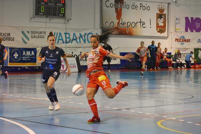 Previa: Poio Pescamar FS - Bilbo CFS Femenino . Jornada 22ª. 1ª División. de Fútbol Sala Femenino