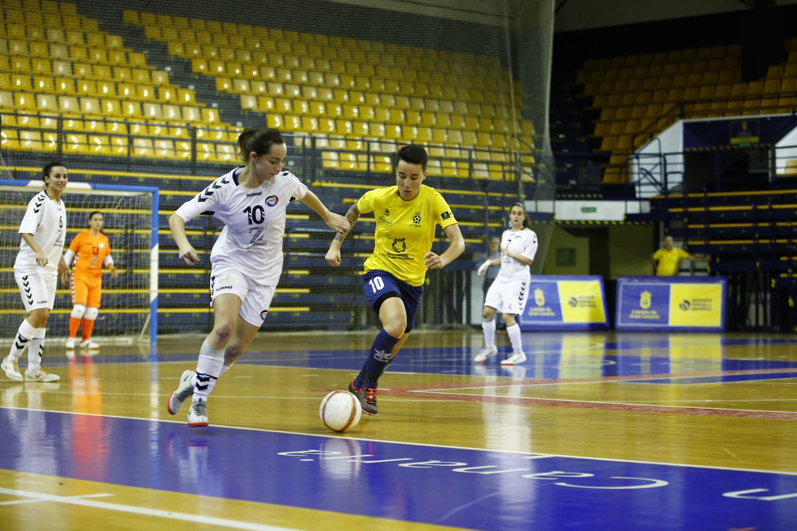 Crónica: Preconte Telde - Rivas FSF . Jornada 19ª. 2ª División Fútbol Sala Femenino. Grupo 4º