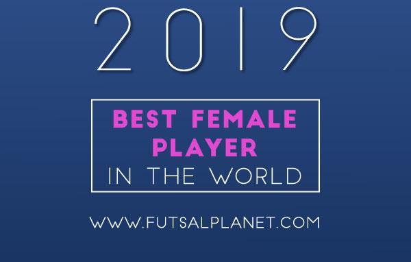 Ana Luján y Peque nominadas a Mejor Jugadora del Mundo en los Futsalplanet Awards 2019