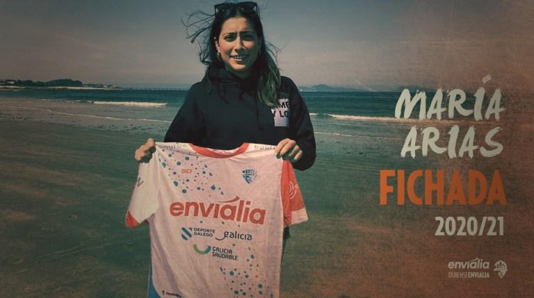 Ourense Envialia FSF anima el mercado de fichajes y se refuerza con María Arias y Andrea Feijóo